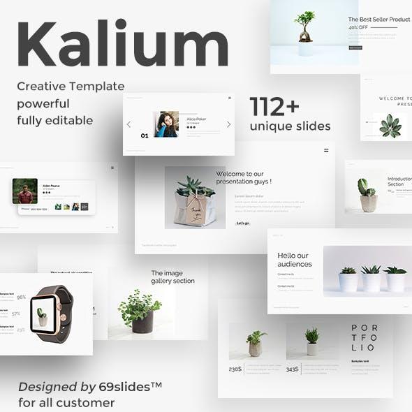 Kalium Minimal Powerpoint Template