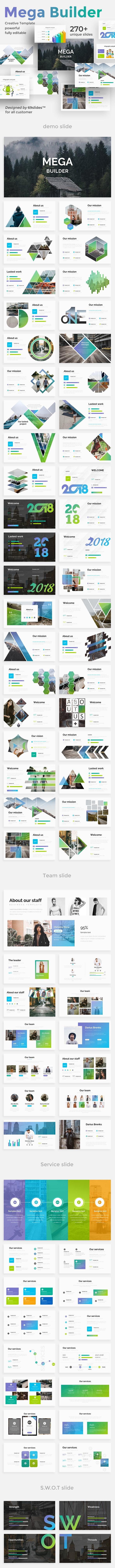 Mega Builder Proposal Keynote Template - Business Keynote Templates