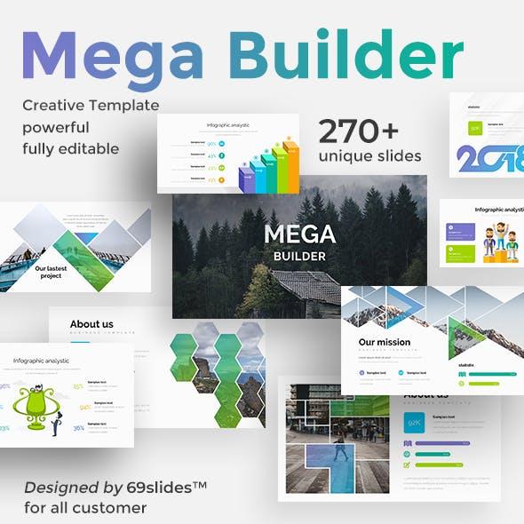 Mega Builder Proposal Google Slide Template