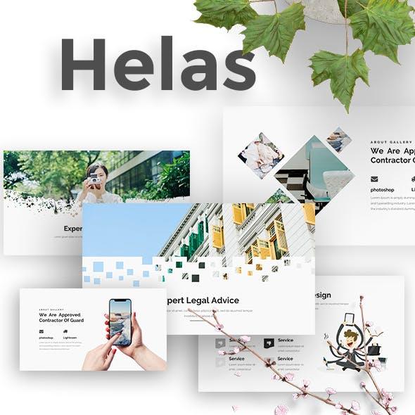 Helas Minimal Keynote Template