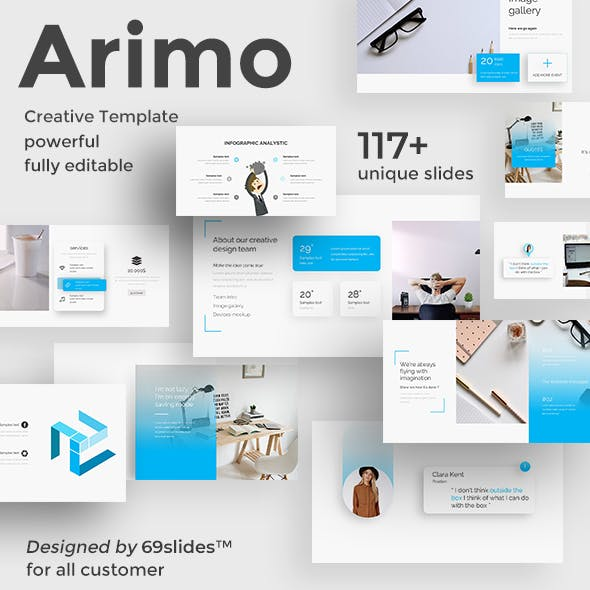 Arimo Creative Powerpoint Template