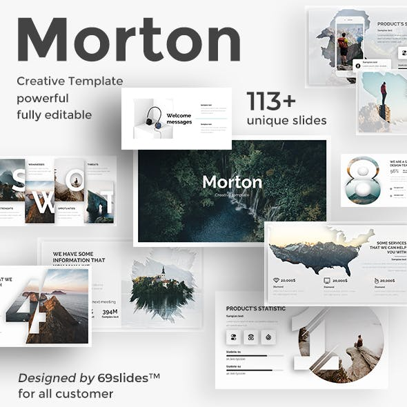 Morton Creative Powerpoint Template