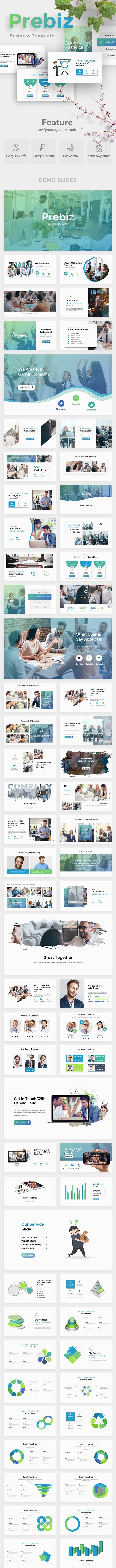 Prebiz Business Google Slide Template