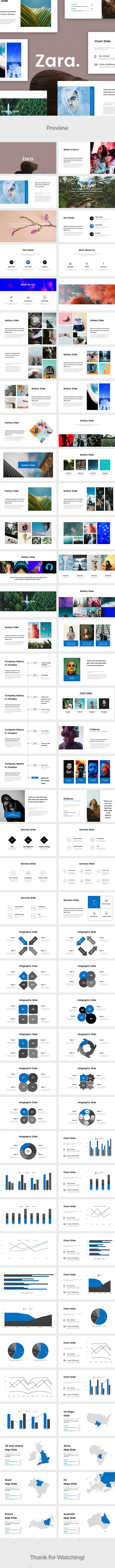 Zara. Google Slides Template - Google Slides Presentation Templates