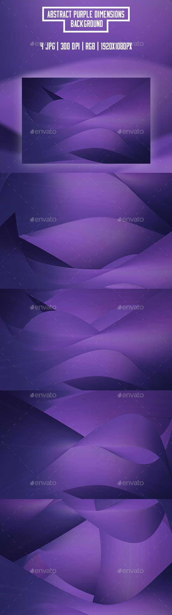 Abstract Purple Dimensions Backgrounds - Abstract Backgrounds