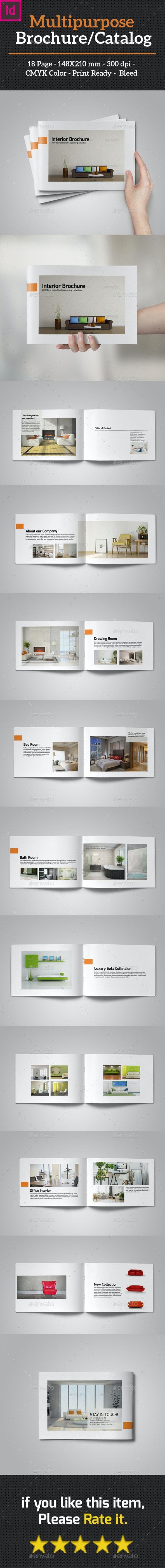 Multipurpose Brochure/Catalog - Catalogs Brochures