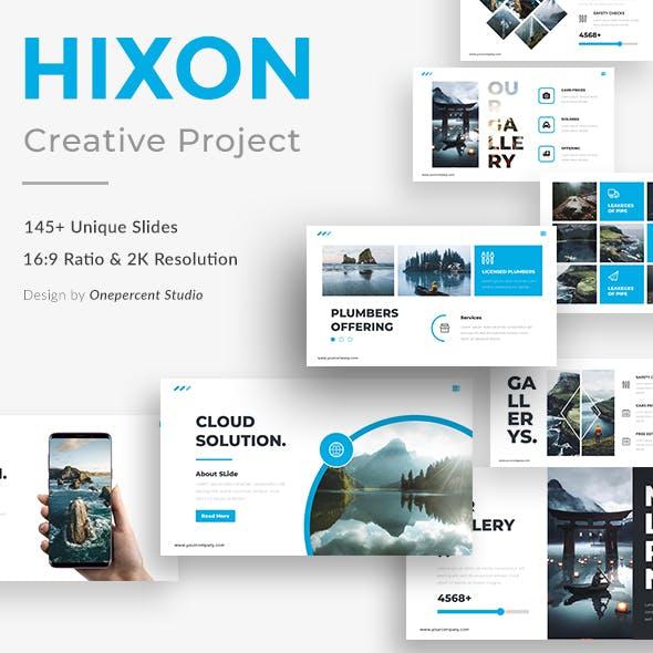 Hixon Creative Powerpoint Template