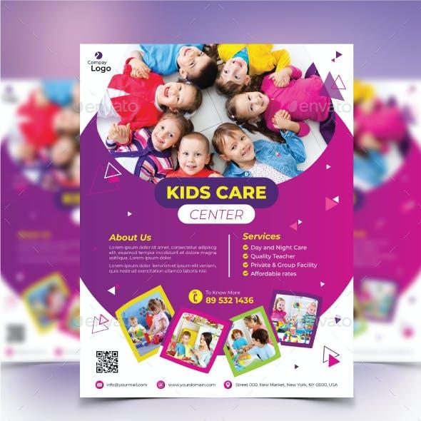 Kids Care Flyer