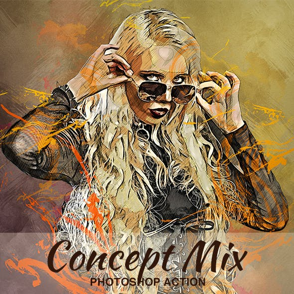 Concept Mix Photoshop Action