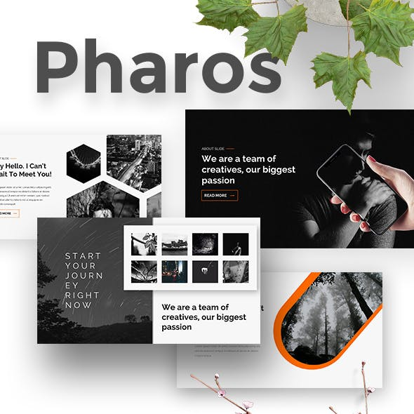Pharos Creative Powerpoint Template