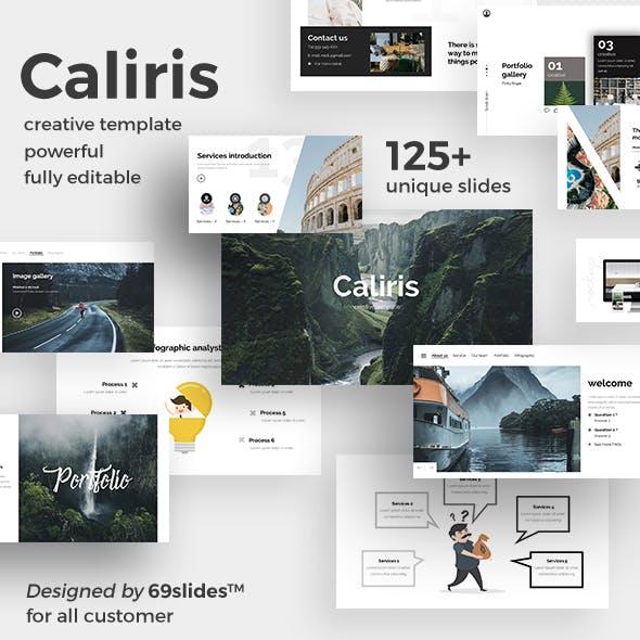 Caliris Creative Keynote Template
