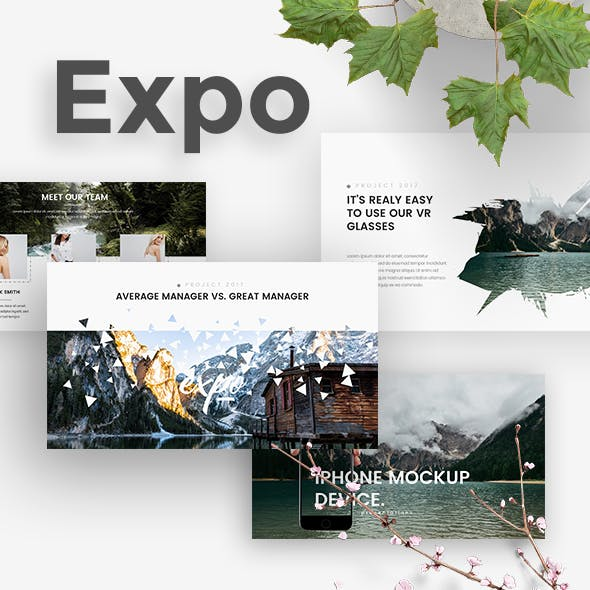Expo Creative Google Slide Template