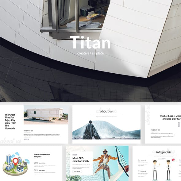 Titan Creative Powerpoint Template