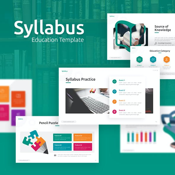 Syllabus - Education Powerpoint Template