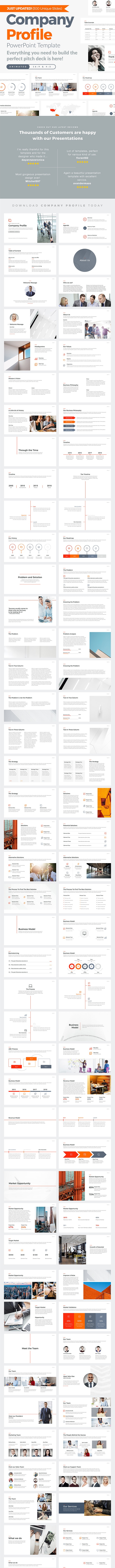 Company Profile PowerPoint Template - PowerPoint Templates Presentation Templates