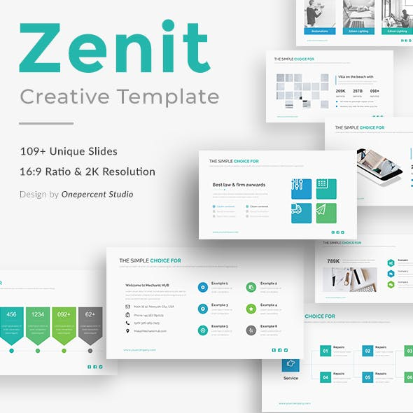Zenit Business Powerpoint Template