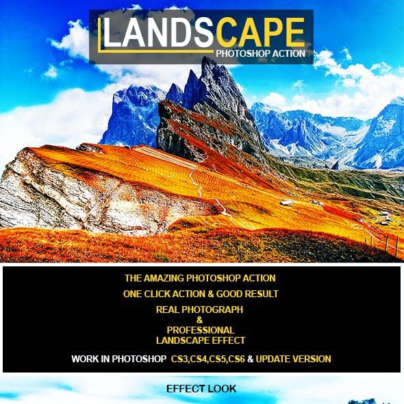 Landscape Photoshop Action
