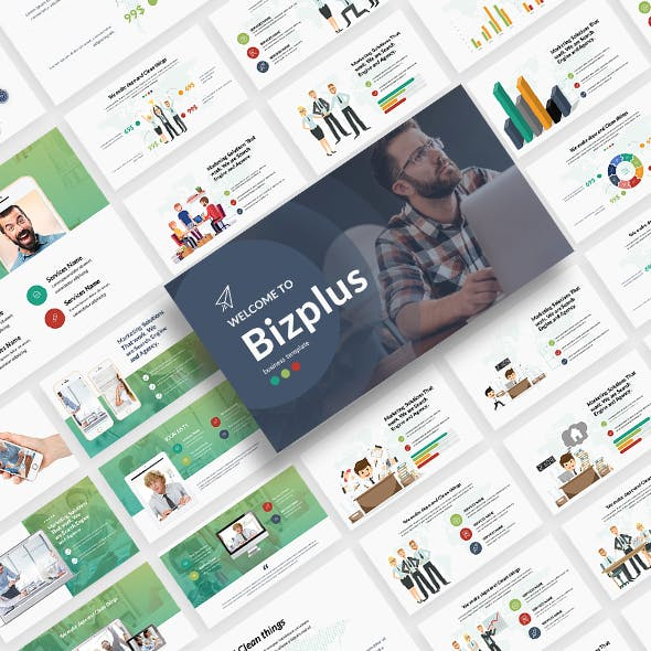 BizPlus Multipurpose Powerpoint Template