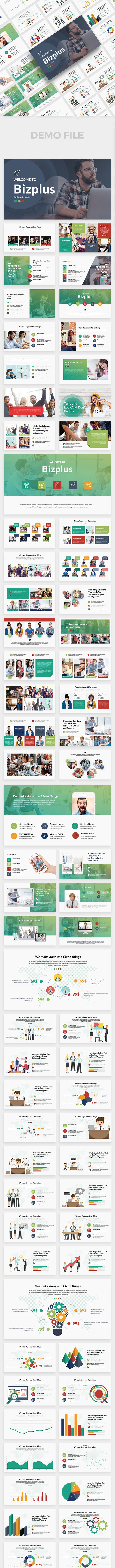 BizPlus Multipurpose Keynote Template - Business Keynote Templates
