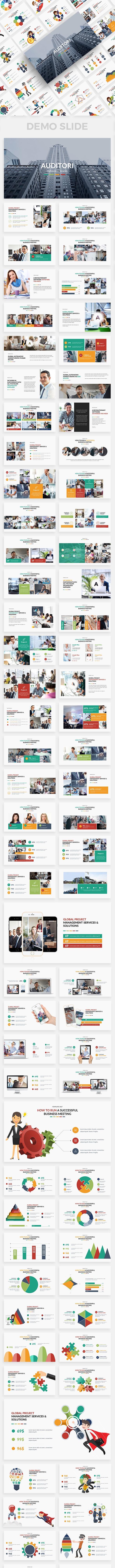 Auditori Project Multipurpose Keynote Template - Business Keynote Templates