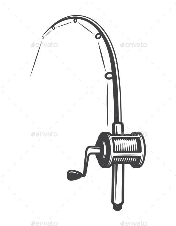 Vintage Fishery Equipment Concept - Miscellaneous Vectors