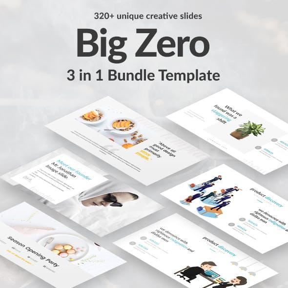 3 in 1 Big Zero Bundle Powerpoint Template