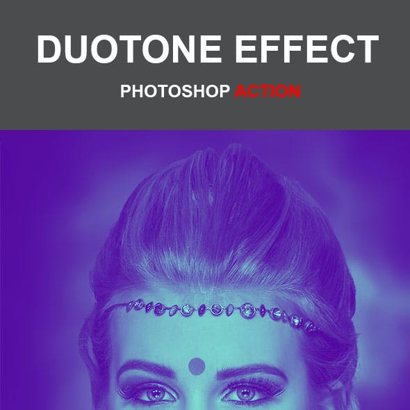 Duotone Effect Photoshop Action