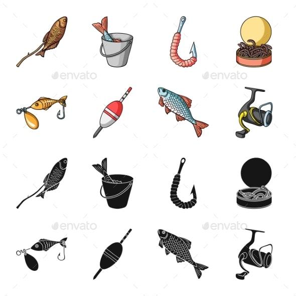 Fishing Set - Miscellaneous Vectors