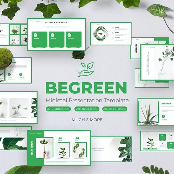 BeGreen - Eco Keynote Template