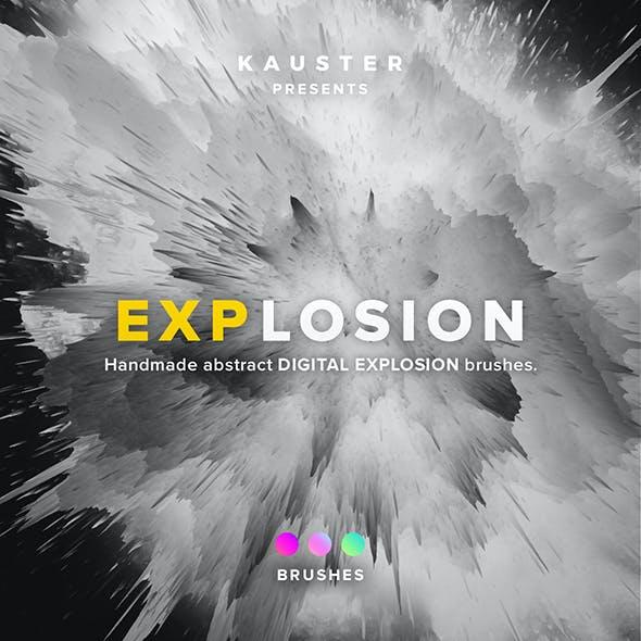 Digital Explosion Brushes