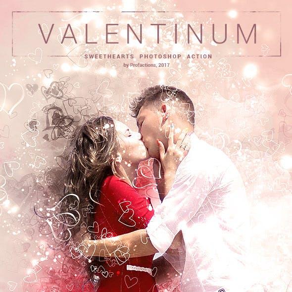Valentinum - Romantic Photoshop Action