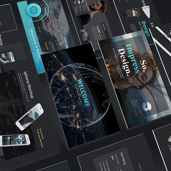 Impression Creative Keynote Template