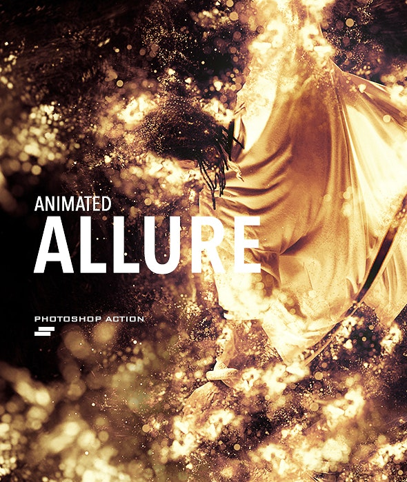 Gif Animated Allure Photoshop Action - Photo Effects Actions