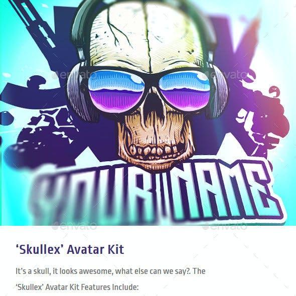 Skullex - Skull Avatar Kit