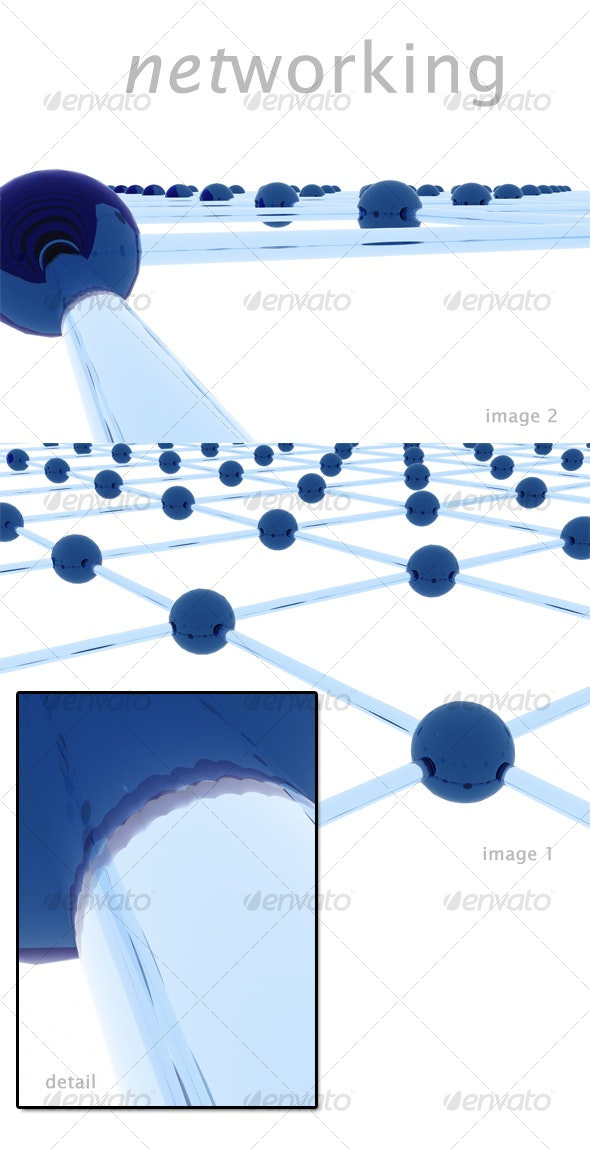 Networking - 3D Backgrounds