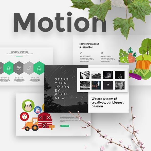 3 in 1 Motion Bundle Keynote Template