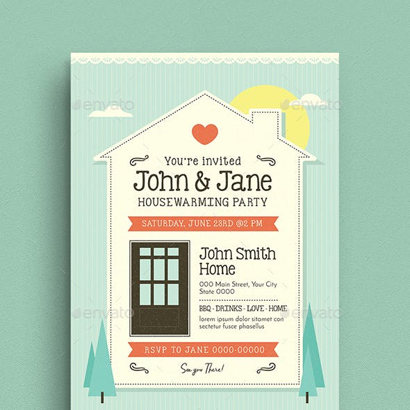 House Warming Flyer/Invitation