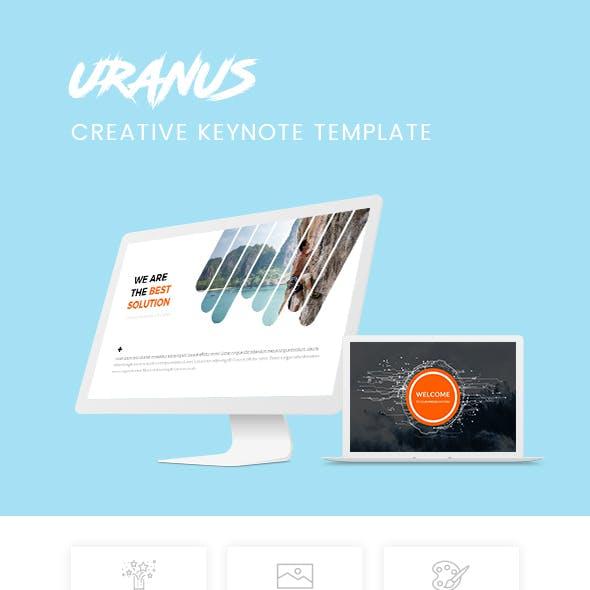 Uranus - Minimal & Creative Keynote Template