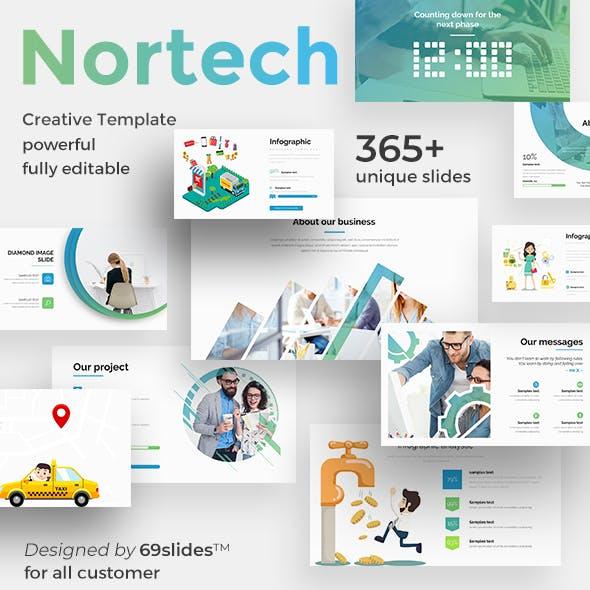 Nortech Pitch Deck Google Slide Template