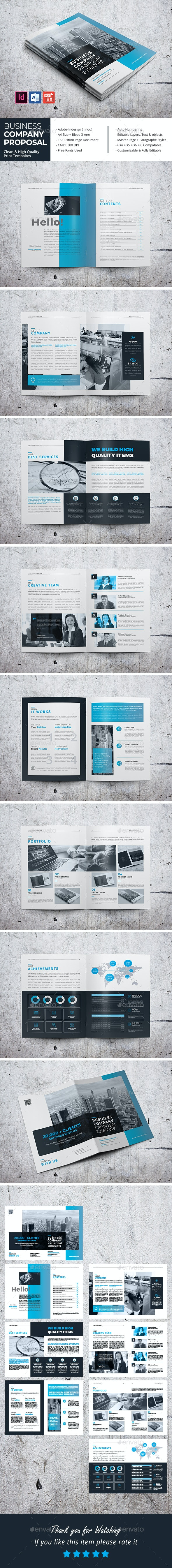 Business Company Proposal - Corporate Brochures