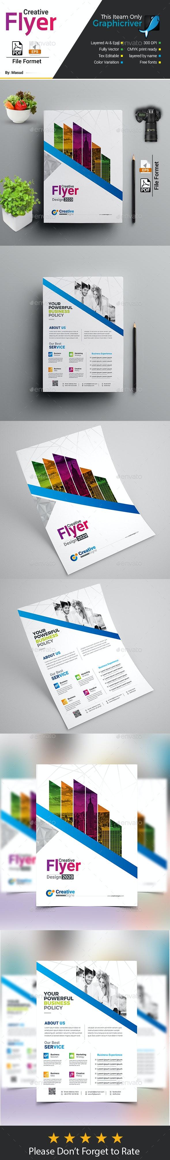 Creative Flyer - Flyers Print Templates