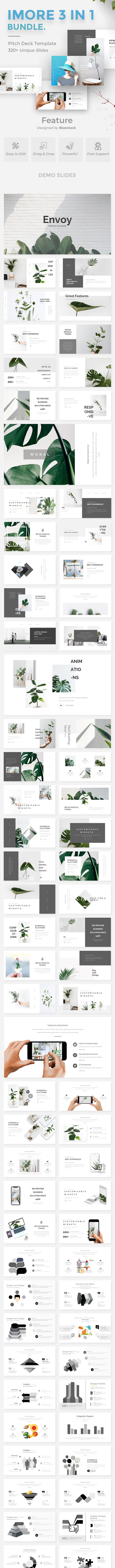 iMore 3 in 1 Bundle Powerpoint Creative Template - Creative PowerPoint Templates