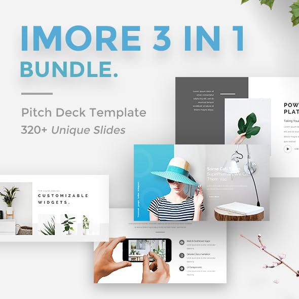 iMore 3 in 1 Bundle Powerpoint Creative Template