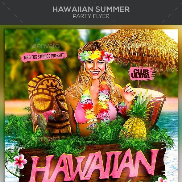 Hawaiian Summer Party