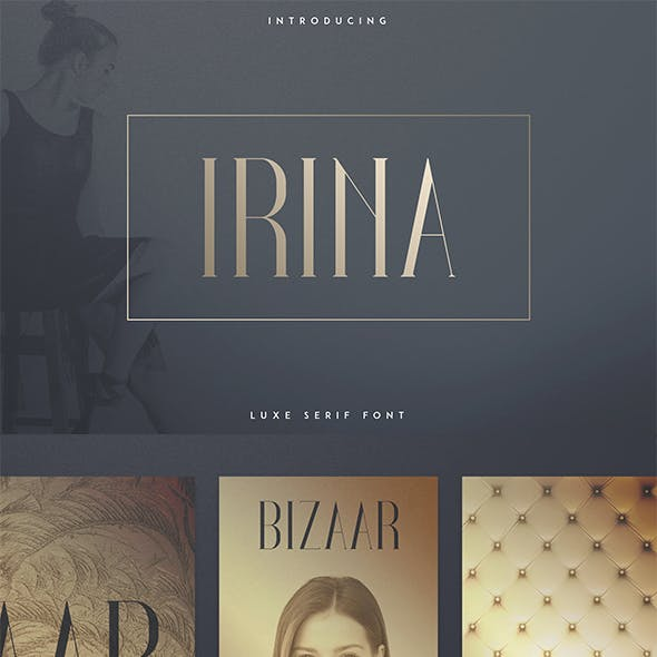 Irina Luxe Serif Font