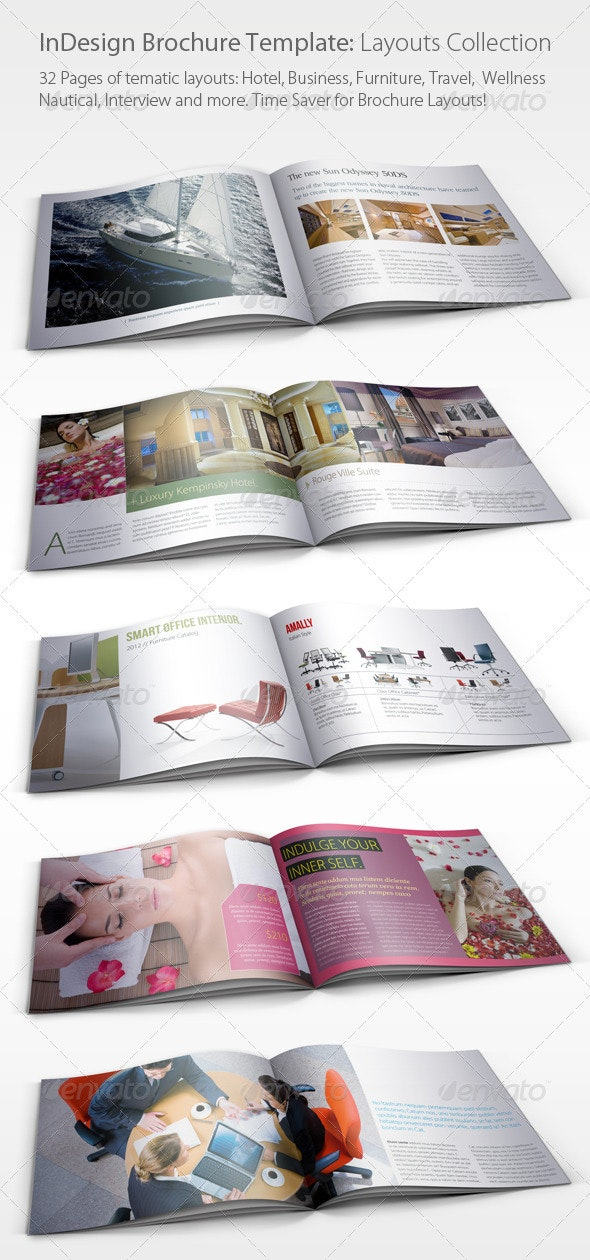 Brochure Layouts Collection (01) - Corporate Brochures