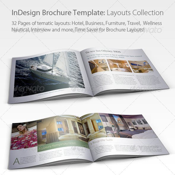 Brochure Layouts Collection (01)
