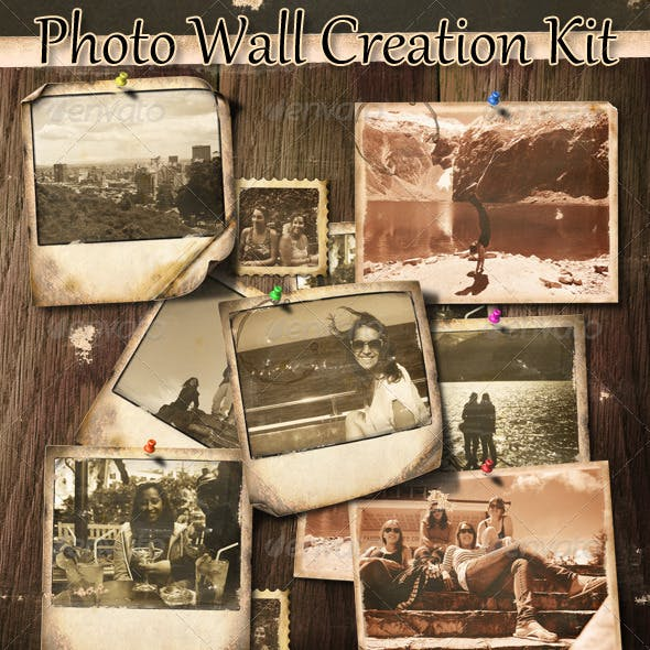 Photo Wall Creation Kit