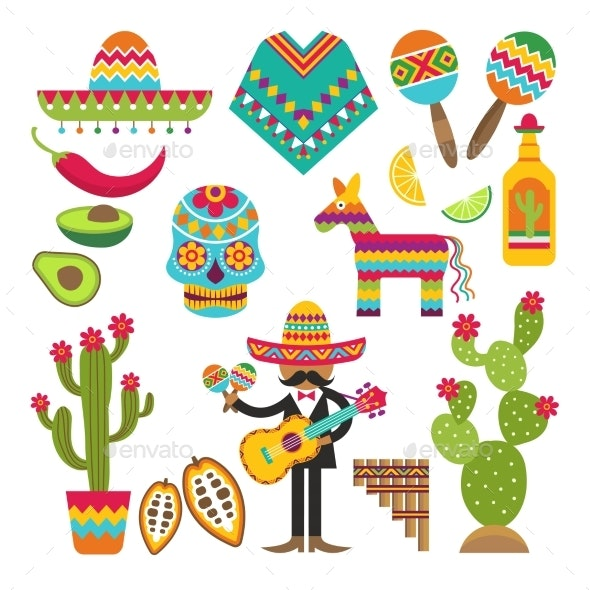 Mexico Symbols - Miscellaneous Vectors