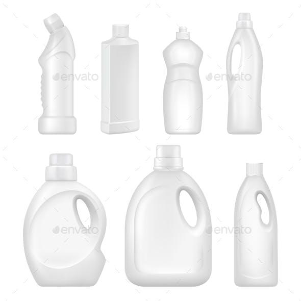 Plastic Empty Bottles